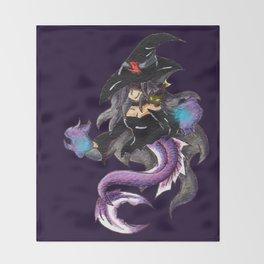 Salem Sea Witch Throw Blanket