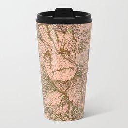 Groot Fan Art Metal Travel Mug