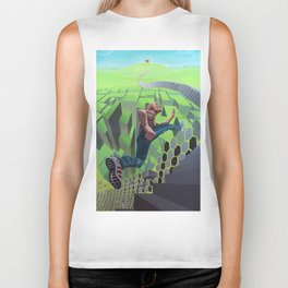 Conquest of reality Biker Tank