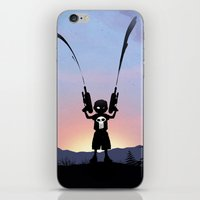 punisher iPhone & iPod Skins featuring Punisher Kid by Andy Fairhurst Art