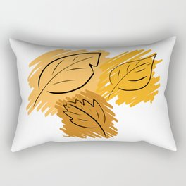 Leaf Me Alone Rectangular Pillow