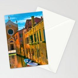 Italy. Venice motorway Stationery Cards
