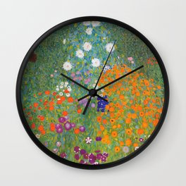Cottage Garden Wall Clock