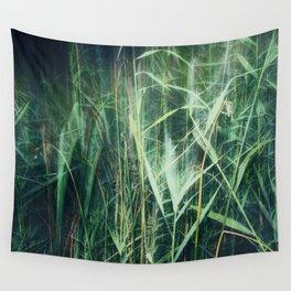 green green grass Wall Tapestry