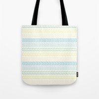 knit Tote Bags featuring Knit 2 by K&C Design