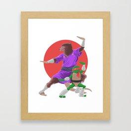 the Art of Ninjutsu....Teenage Mutant Ninja Turtles Framed Art Print