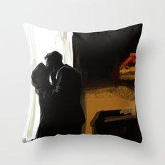 The Deep Blue Sea Art Throw Pillow