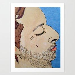 A R Art Print