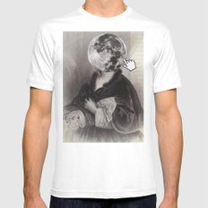 Catherine the Great White MEDIUM Mens Fitted Tee