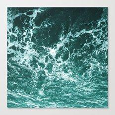 Upside Down Sea Water Splash Canvas Print