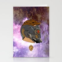 starlord Stationery Cards featuring LEGENDARY STAR-LORD by Blake Sturchio