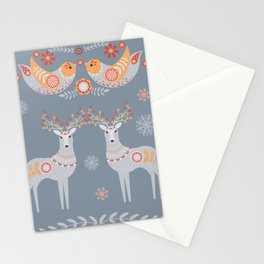 Nordic Winter Stationery Cards