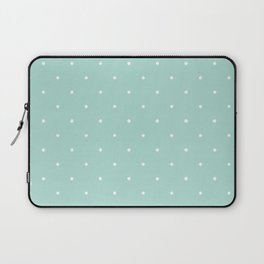 Turquoise Polka Laptop Sleeve