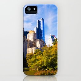 Central Park Fall 1 iPhone Case
