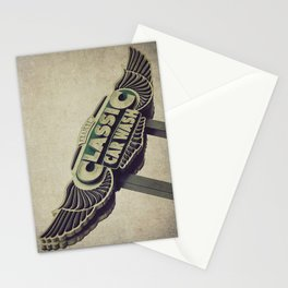 Flying Wings Classic Car Wash Stationery Cards