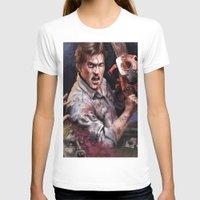 evil dead T-shirts featuring Ash Evil Dead by John Mungiello