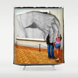 Escher's Revenge Shower Curtain