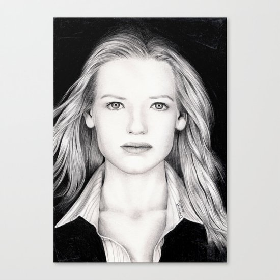 ANNA TORV - OLIVIA DUNHAM Canvas Print