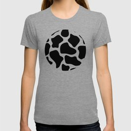 Cow Black and White Pattern T-shirt