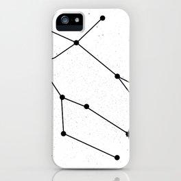 GEMINI (WHITE & BLACK) iPhone Case