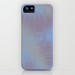 Blue Grey Design iPhone Case