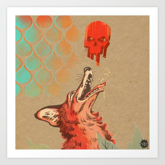 Fizzox Art Print
