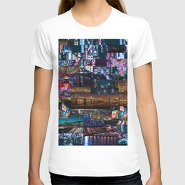 Cities of the world at night T-shirt
