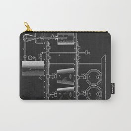 Beer Whisky Still Distillery Patent Carry-All Pouch