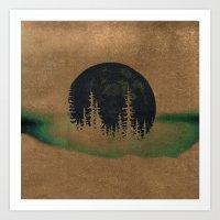 oasis Art Prints featuring oasis? by KrisLeov
