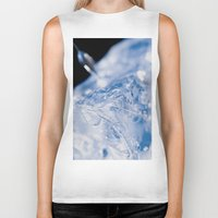 ice Biker Tanks featuring Ice by Euan Anderson