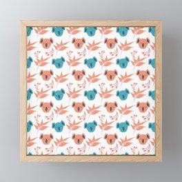 Koala Floral Gum Tree Fun Collection 6 Framed Mini Art Print