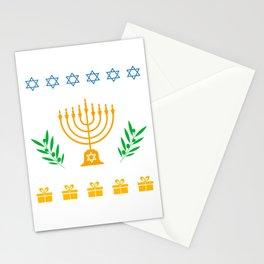 Hanukkah Ugly Shirt Hanukkah Jewish Festival Gift Stationery Cards