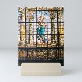 She's a Lady, Chapultepec Castle CDMX 35mm Film Mini Art Print