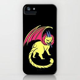 Hardcore Manticore iPhone Case