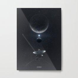 Voyager 3 Pluto Flyby Metal Print
