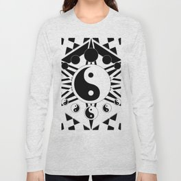 Yin Yang Orbit (2) Long Sleeve T-shirt