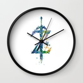 Breath of the Wild Wall Clock