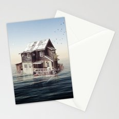 Home on the water Stationery Cards