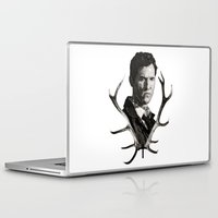 true detective Laptop & iPad Skins featuring True Detective by ConnorEden