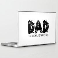 dad Laptop & iPad Skins featuring Dad by Jessa