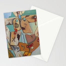Arab - Israeli wars (Oil) Stationery Cards