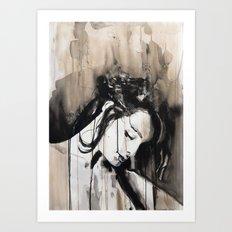 Opus amoris est maxima miseria Art Print