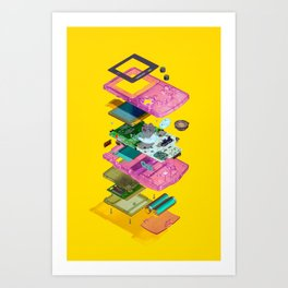 Assembly Required 5 Art Print