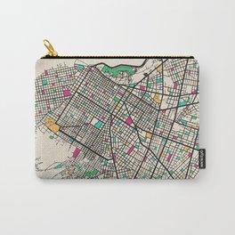 Colorful City Maps: Asuncion, Paraguay Carry-All Pouch