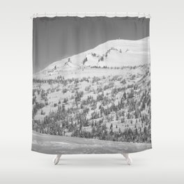 Winter day 11 Shower Curtain