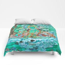 Green Tara Comforters