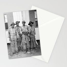 Southern Chain Gang Photo - 1903 Stationery Cards