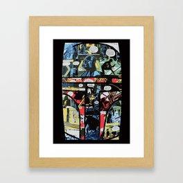 Boba Fett Collage Framed Art Print