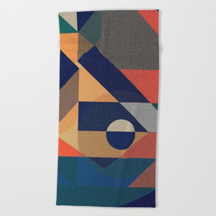Shilly-Shally Beach Towel