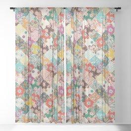 sarilmak patchwork Sheer Curtain